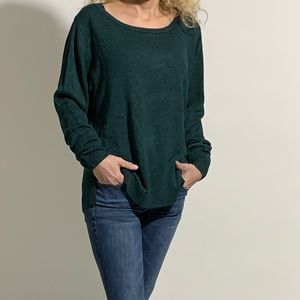 Emerald Green Italian-Made Sweater